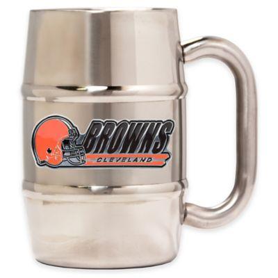NFL Cleveland Browns Stainless Steel Barrel Mug