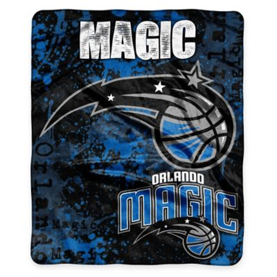 NBA Orlando Magic Super-Plush Raschel Throw Blanket