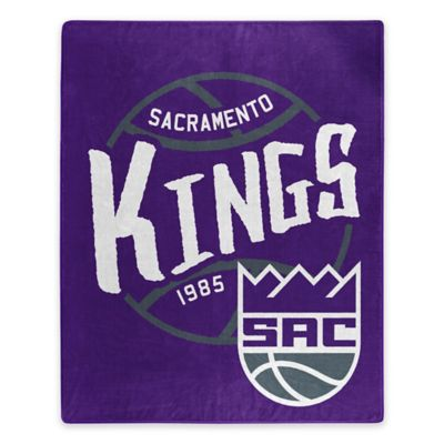NBA Sacramento Kings Super-Plush Raschel Throw Blanket