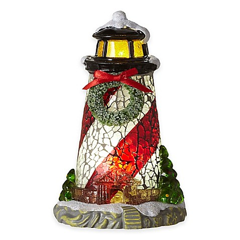 Holiday Lighthouse Night Light Bed Bath Amp Beyond