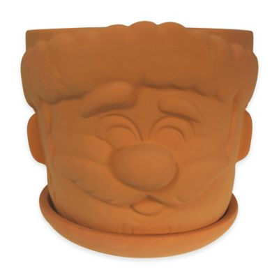 7-Inch Terracotta Santa Planter Kit
