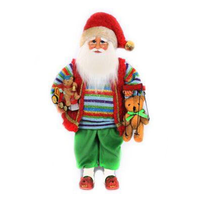 Beary Christmas Santa Figurine