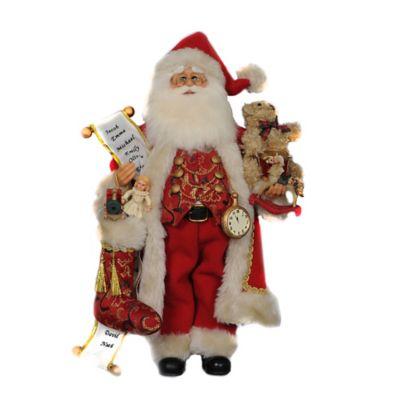 17-Inch Toy Stocking Santa Figurine
