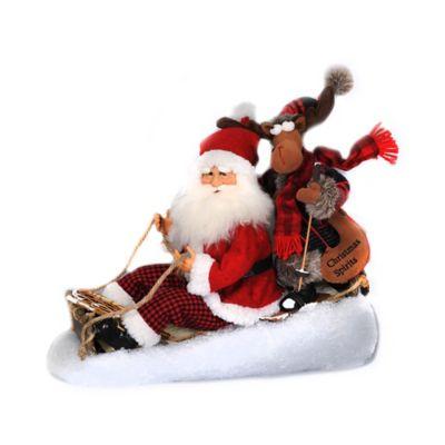 13-Inch Christmas Spirit Santa Figurine