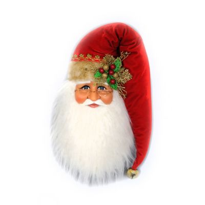 18-Inch Traditional Santa Head