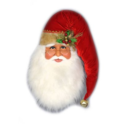 31-Inch Traditional Santa Head