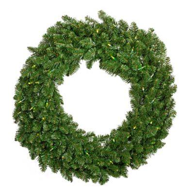 36-Inch Glisten Pre-Lit Wreath