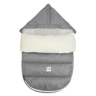 7 A.M.® Enfant LambPOD Medium/Large Footmuff Cover with Base in Heather Grey