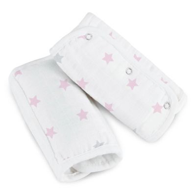 aden® by aden + anais® Muslin Strap Covers in Darling