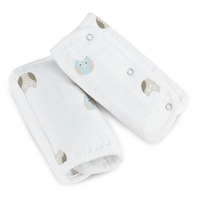 aden® by aden + anais® Muslin Strap Covers in Goodnight Owl
