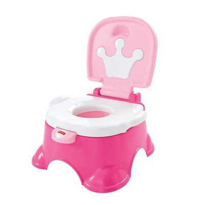 Fisher Price® Pink Princess™ Royal Stepstool Potty in Pink