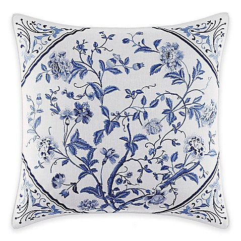 Buy Laura Ashley 174 Charlotte Square Throw Pillow From Bed