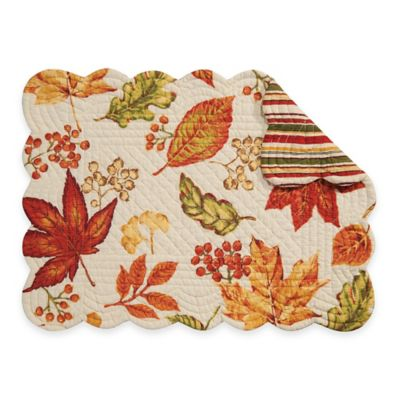Fall Leaves Table Placemats