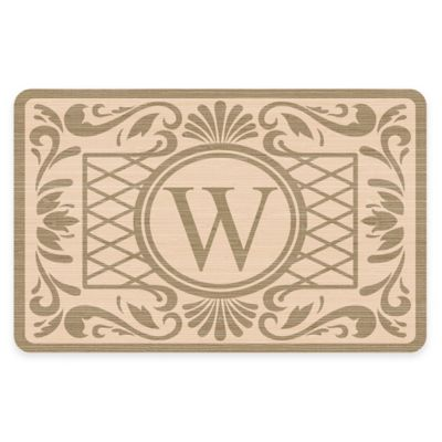 Bungalow Flooring Weather Guard™ 27-Inch x 18-Inch Baroque Kitchen Mat