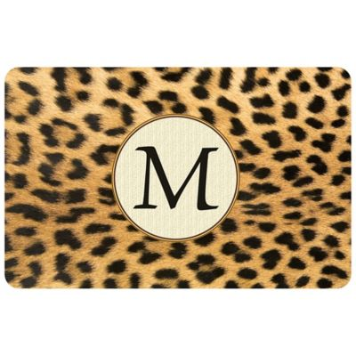 Bungalow Flooring Weather Guard™ 27-Inch x 18-Inch Leopard Kitchen Mat