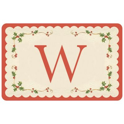 Bungalow Flooring Weather Guard™ 27-Inch x 18-Inch Classic Holiday Kitchen Mat