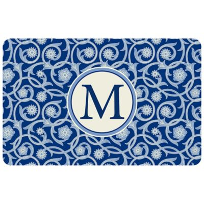 Bungalow Flooring Weather Guard™ 27-Inch x 18-Inch Medallion Kitchen Mat