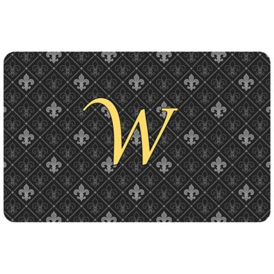 Bungalow Flooring Weather Guard™ 27-Inch x 18-Inch Harlequin Fleur Kitchen Mat