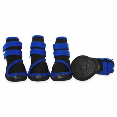 Performance Supportive Extra Small Pet Shoes in Black/Blue