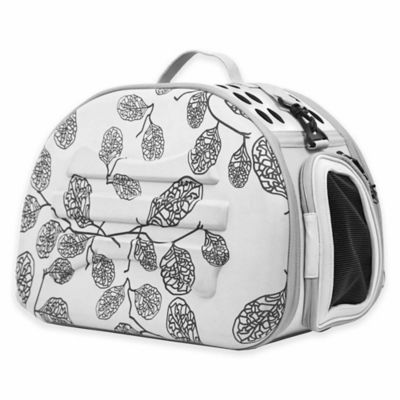 Pink Grey Pet Carrier