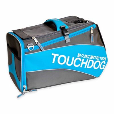 Touchdog® Modern-Glide Airline-Approved Water-Resistant Dog Carrier in Black