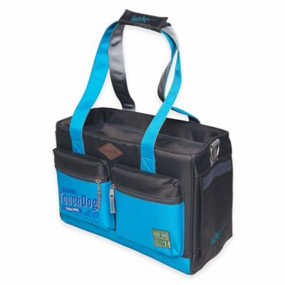 Touchdog Active-Purse Water-Resistant Dog Carrier in Blue