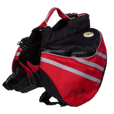 Everest Small Pet Backpack Harness in Red