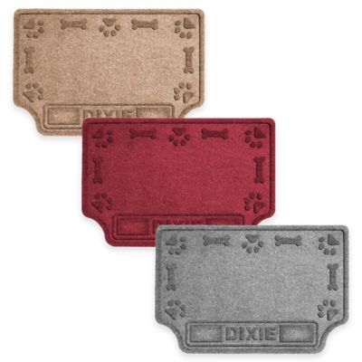 Personalized Dog Food Mats