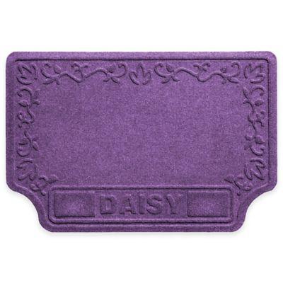 Weather Guard™ 22-Inch x 33-Inch Drool Hog™ Paws & Bones Pet Mat in Purple