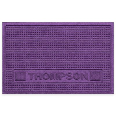 Weather Guard™ 18-Inch x 28-Inch Squares Pet Mat in Purple