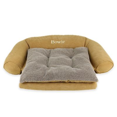 Ortho Sleeper Comfort Small Pet Couch in Caramel