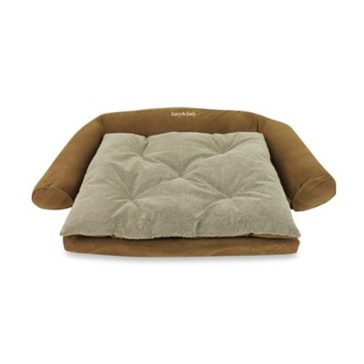 Ortho Sleeper Comfort Small Pet Couch in Chocolate