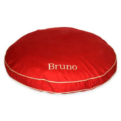 Round-A-Bout Large Pet Bed in Barn Red