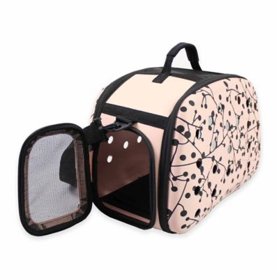 Narrow Shell Perforated Collapsible Pet Carrier Cat