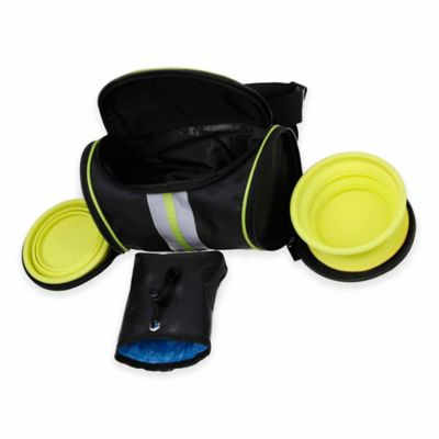 Food and Water Travel Waistband Pouch Belt