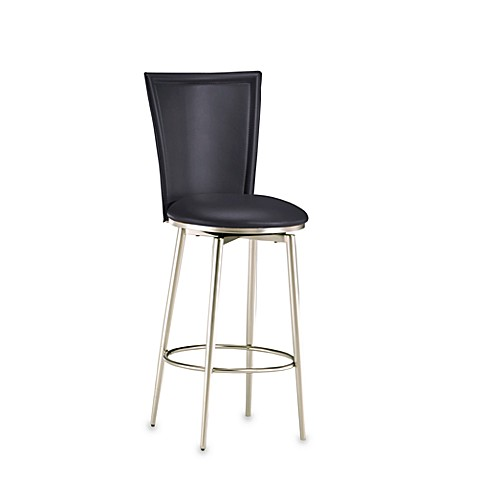 Bristol 26-Inch Stool in Black
