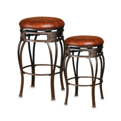 Hillsdale Montello Backless 24-Inch Barstool