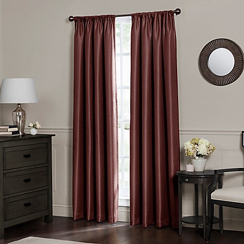 Emery Rod Pocket Insulated Total Blackout Window Curtain