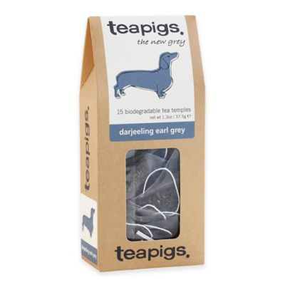 teapigs 90-Count Darjeeling Earl Grey Tea Temples