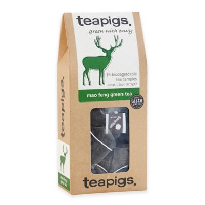 teapigs 90-Count Mao Feng Green Tea Temples
