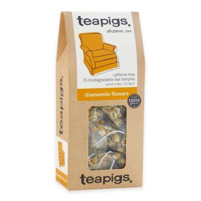 teapigs 90-Count Chamomile Flowers Tea Temples