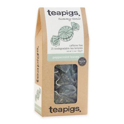 Teapigs 90-Count Peppermint Tea Temples