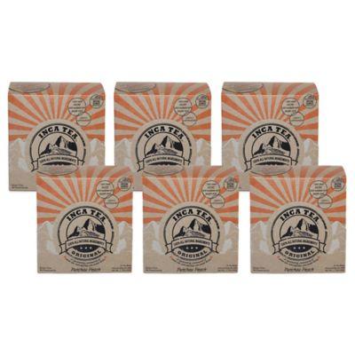 Inca Tea® 90-Count Pick Me Up Peach Tea Box