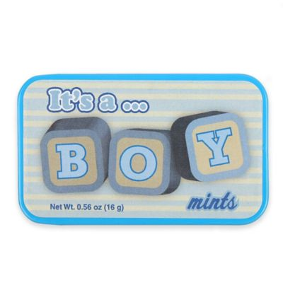 "AmuseMints® 24-Pack ""It's a Boy"" Sugar-Free Mints"