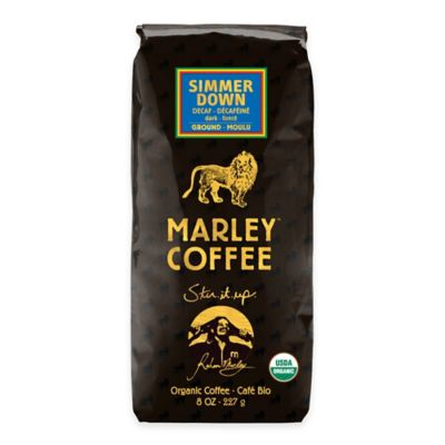 Marley Coffee® Simmer Down 8 oz. Ground Dark Roast Coffee (Pack of 8)
