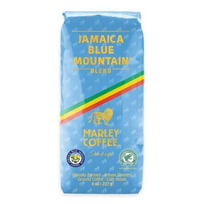 Marley Coffee® Smile Jamaica Blue Mountain Blend 8-Pack 8 oz.Ground Medium Roast Coffee