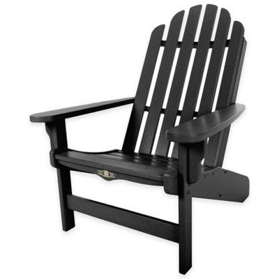 Pawleys Island® Durawood® Essential Adirondack Chair in Black