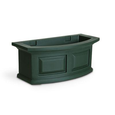 Mayne 2-Foot Nantucket Window Box in Green