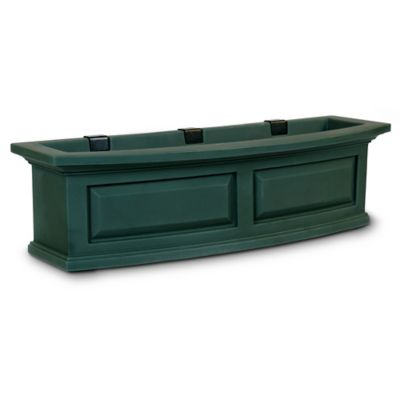 Mayne 2-Foot Nantucket Window Box in Red