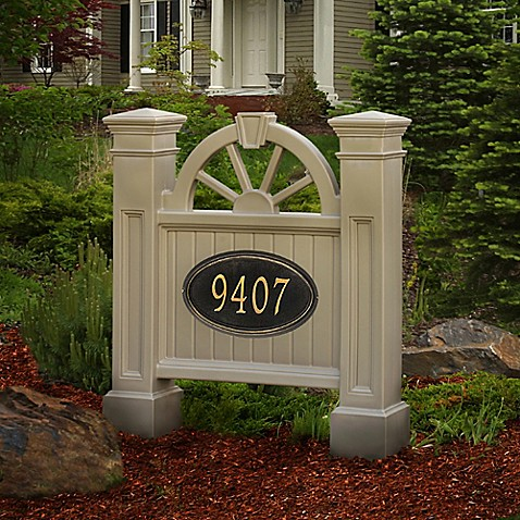 Mayne Winchester Address Sign